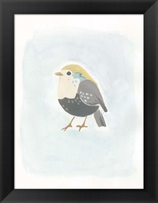 Metaverse Art Dapper Bird II Framed Wall Art