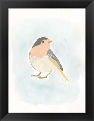 Metaverse Art Dapper Bird III Framed Wall Art