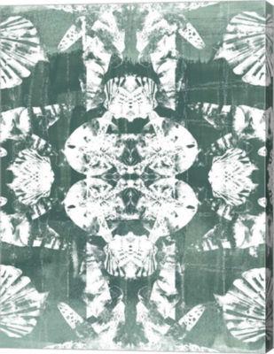 Metaverse Art Sea Green Kaleidoscope IV Canvas Wall Art