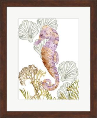 Metaverse Art Undersea Creatures II Framed Wall Art