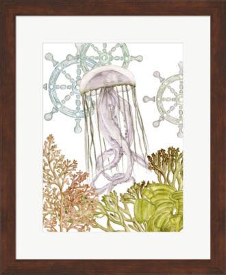 Metaverse Art Undersea Creatures III Framed Wall Art