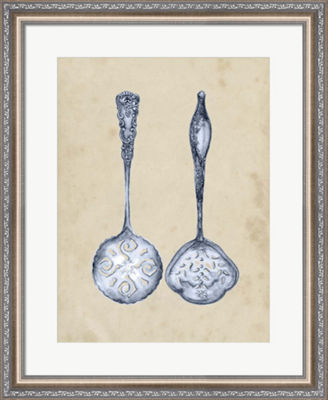 Metaverse Art Antique Utensils IV Framed Wall Art