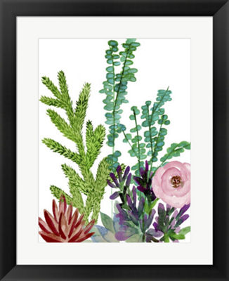 Metaverse Art Little Garden II Framed Wall Art