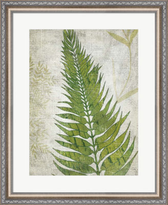 Metaverse Art Frond II Framed Wall Art