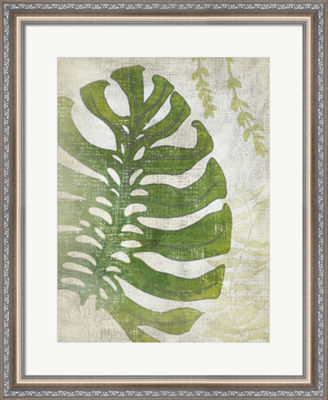 Metaverse Art Frond III Framed Wall Art