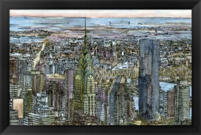 Metaverse Art Coast to Coast I Framed Wall Art