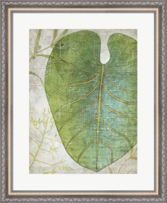 Metaverse Art Frond IV Framed Wall Art