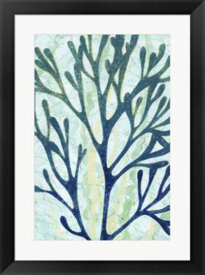 Metaverse Art Sea Forest I Framed Wall Art