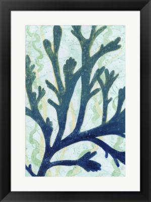 Metaverse Art Sea Forest II Framed Wall Art