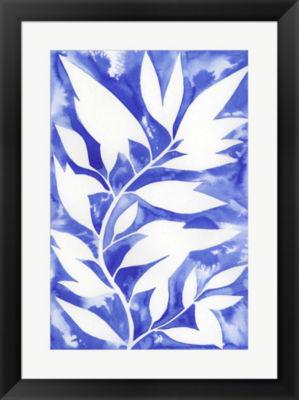 Metaverse Art Ink Blot Vine II Framed Wall Art