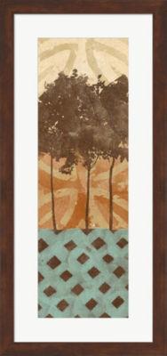 Metaverse Art Tribal Trio I Framed Wall Art