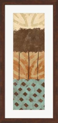 Metaverse Art Tribal Trio II Framed Wall Art