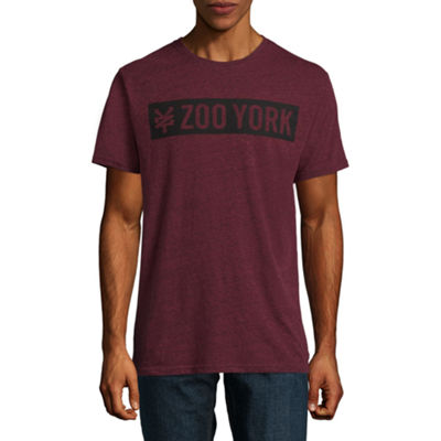 Zoo York Mens Crew Neck Short Sleeve Logo Graphic T-Shirt