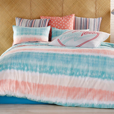 Hang Ten Tie Dye Comforter and Sham Set