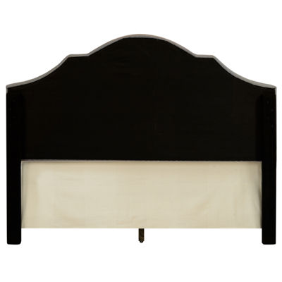 All-In-One Scalloped Tufted Upholstered King Bed