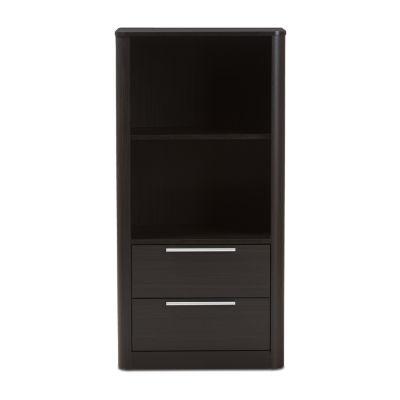 Baxton Studio Carlingford -Drawer Bookcase