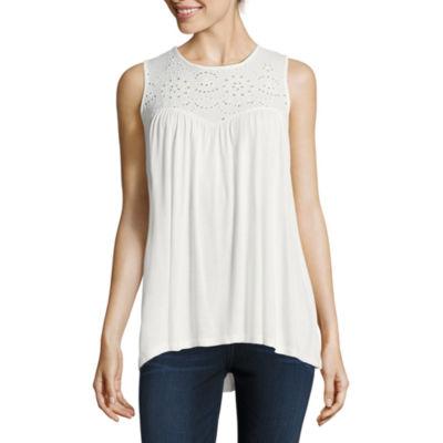 Libby Edelman Sleeveless Stripe Maxi Dress