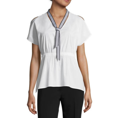 Project Runway Ruched Waist Top
