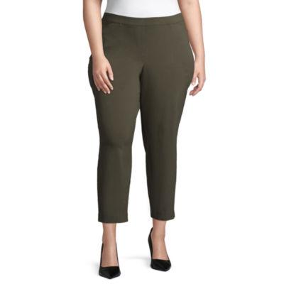 Liz Claiborne Millenium Pull On Pant- Plus