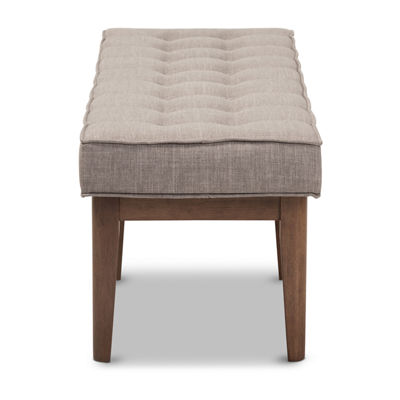 Baxton Studio Lucca Bench