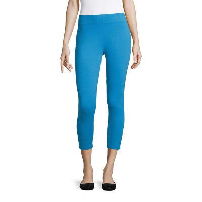 Mixit Criss Cross Capri Womens Legging - Petite