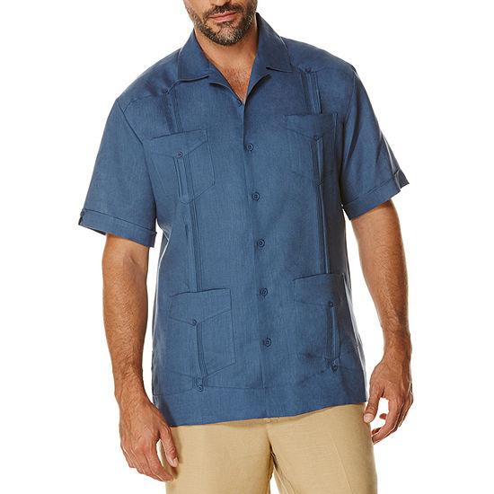 Cubavera Short Sleeve 4 Pocket Guayabera Shirt
