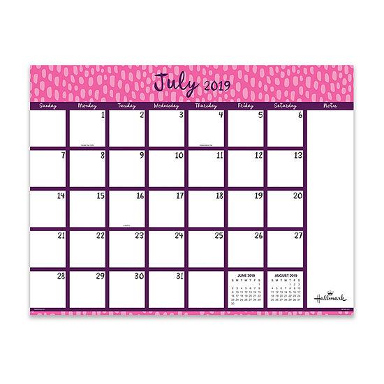 Tf Publishing Pretty Patterns Large Desktop Calendar