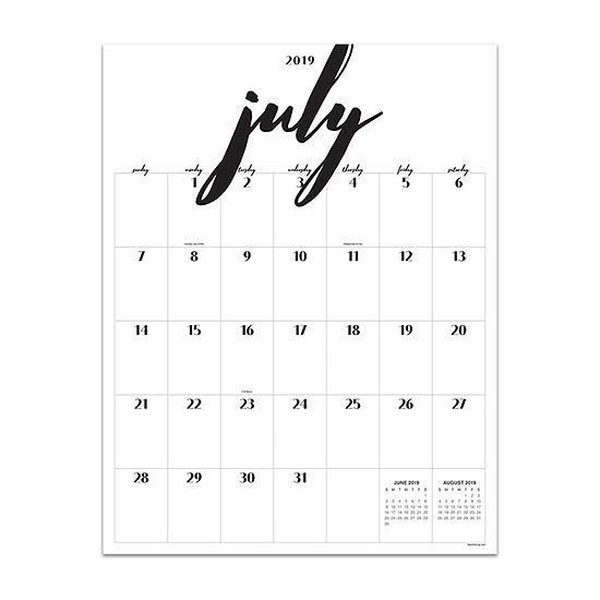 Tf Publishing Handwritten Large Art Wall Calendar