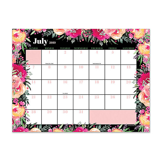 Tf Publishing Boquet Mini Desktop Calendar