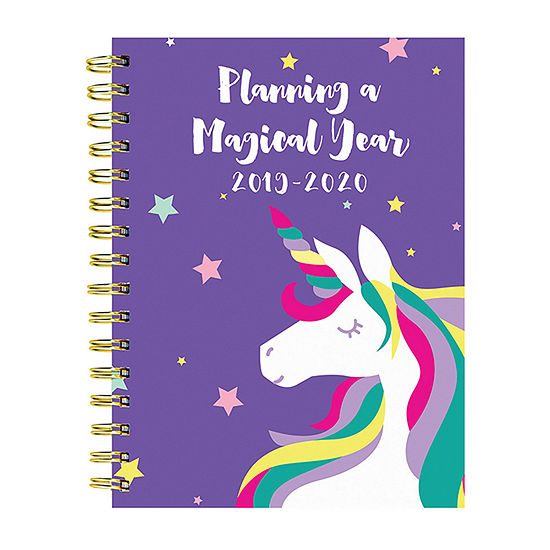Tf Publishing Magical Unicorn Medium Weekly Monthly Planner