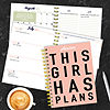 Tf Publishing Girl Plans Medium Weekly Monthly Planner