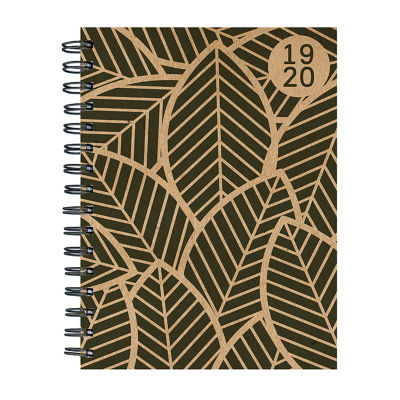 Tf Publishing Kraft Foliage Medium Weekly Monthly Planner