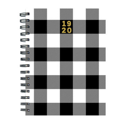Tf Publishing Classic Plaid Medium Weekly Monthly Planner