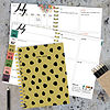 Tf Publishing Mustard Dots Medium Weekly Monthly Planner
