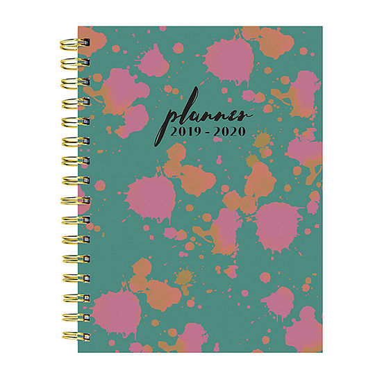 Tf Publishing Paint Spots Medium Weekly Monthly Planner