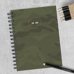 Tf Publishing Camo Medium Weekly Monthly Planner