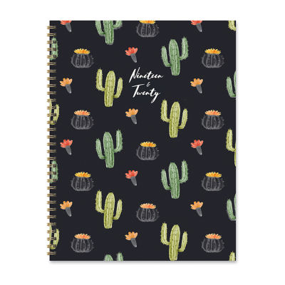 Tf Publishing Black Cactus Large Weekly Monthly Planner