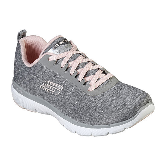 Skechers Flex Appeal 3.0-Insiders Womens Walking Shoes Lace-up