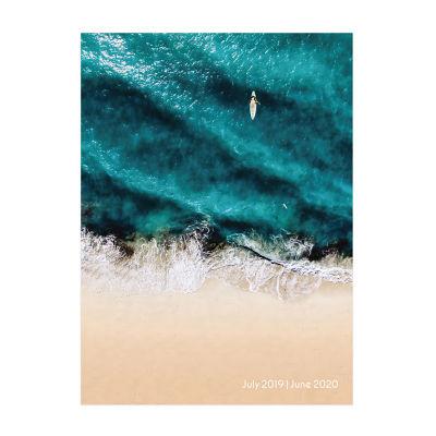 Tf Publishing Surf Waves Medium Monthly Planner