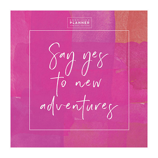 Tf Publishing Say Yes Large Monthly Planner