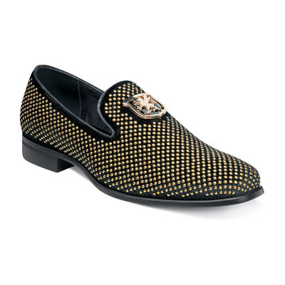 Stacy Adams Mens Swagger Round Toe Slip-On Shoe