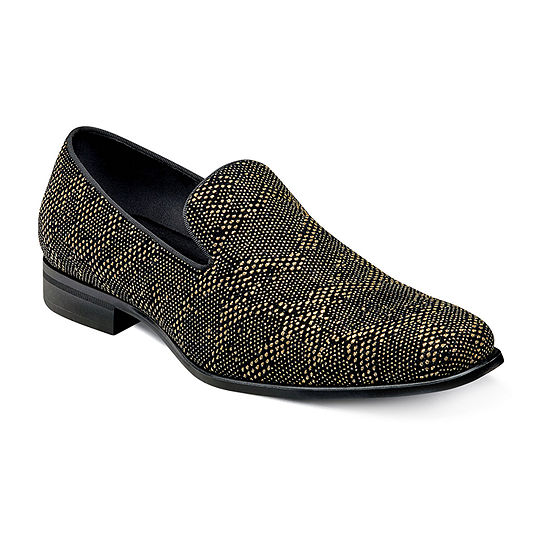 Stacy Adams Mens Swank Slip-On Shoe Round Toe