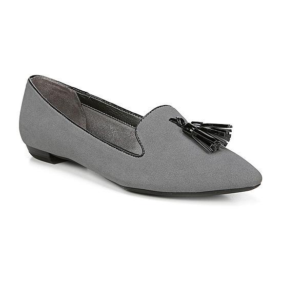 Lifestride Womens Zola Pointed Toe Slip On Shoe