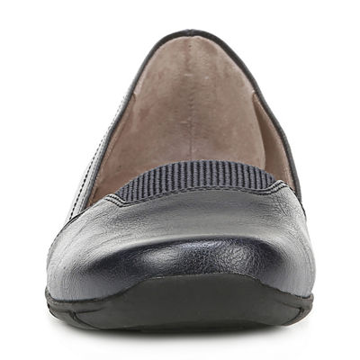 Lifestride Womens Delano Round Toe Slip-On Shoe