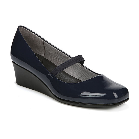 Lifestride Womens Groovy Slip-on Square Toe Mary Jane Shoes