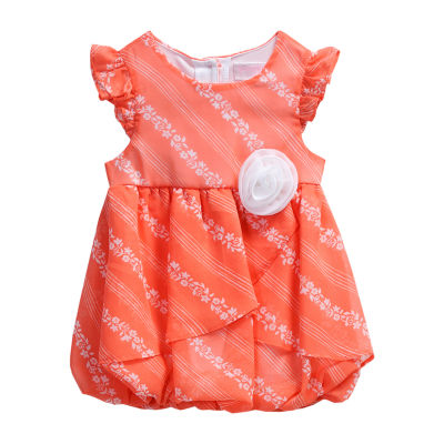 Young Land Sleeveless Romper - Baby Girls