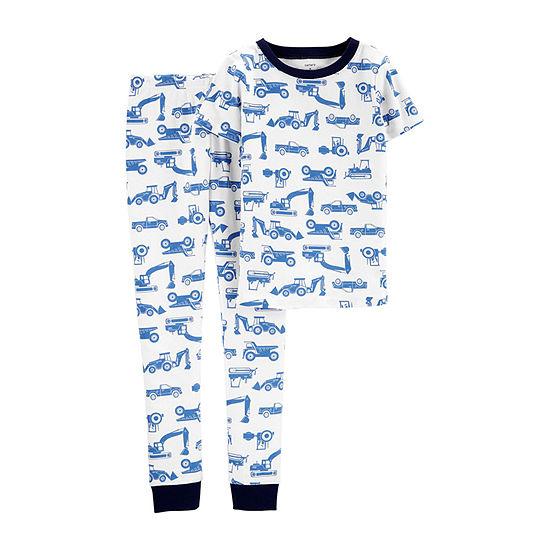 Carters 2 Pc Pajama Set Preschool Big Kid Boys