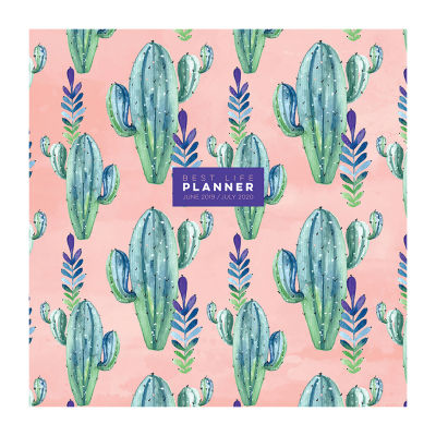 Tf Publishing Prickly Pink Large Monthly Planner