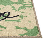 JCPenney Home Hello Leaves Scatter Rug