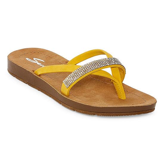 Seven 7 Womens Bondi Flip-Flops